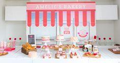 Bake Shop Dessert Table