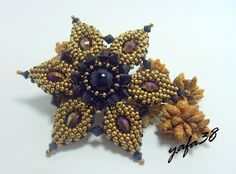 Beautiful flower, free tutorial, amazing talent   #seed #bead #tutorial