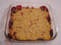 Berry Crisp - Weight Watchers Core Recipe from Food.com: This is a Weight Watchers core recipe. Serve with frozen yogurt or whipped cream - you have to add the points, of course!