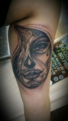 Day of the end Girl Done@BigKahunaTattoo