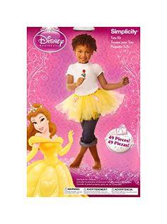 Disney Princess Belle Tutu Kit Make Your Own Beauty and the Beast Costume Tutu Disney, Disney Princess Tutu, Super Princess, Princess Tutu Dresses, Disney Costumes, Disney Diy, Princess Party, Disney Trips, Disney Magic Cruise