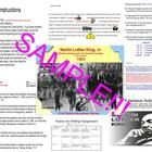 This is a packet you can use for Martin Luther King, Jr. Day, Bloody Sunday or Turn Around Tuesday - Civil Rights Activities in U.S. History