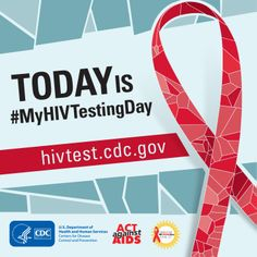 One in 6 people with #HIV don't know they have it. It's important to know your HIV status so you can take care of yourself and your partners. #MyHIVTesting Day http://www.cdc.gov/actagainstaids/basics/testing.html