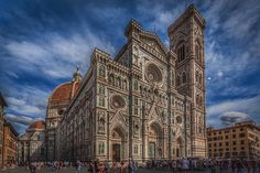 Duomo Florence version 2 by Rick McEvoy architectural photographer The stunning main facade of the magnificent Duomo in Florence right in the heart of Tuscany. #duomoflorence #duomo #florence #italy #igersitaly