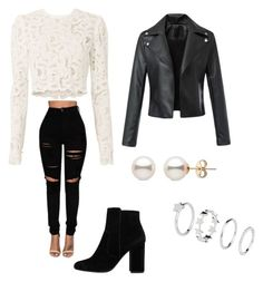 """Untitled #698"" by lydiaubblegum on Polyvore featuring A.L.C. and MANGO"