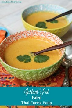 InstaPot Paleo Thai Carrot Soup - Whole Foods Knock-Off-8646 - Pinterest