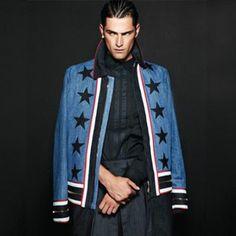 Indie Designs Star Denim Jacket