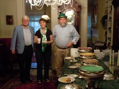 Savannah Bed & Breakfast Inn:  St Paddy's celebrations start early with our Breakfeast Party!