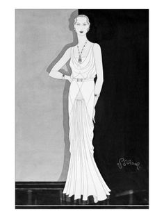 #Vogue - September 1930 by Douglas #Pollard. Giclee print from Art.com.