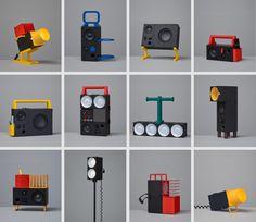 Teenage Engineering's Printables Transform IKEA Speakers Into Something Cool Module Design, 2020 Design, Teenage Engineering, Speaker Box Design, Diy Speakers, Retro Futuristic, 3d Prints, Home Decor Furniture, Barbie Furniture