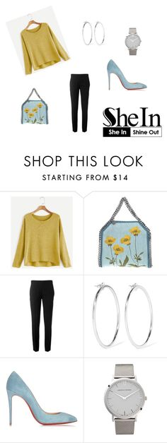 """""""Untitled #118"""" by brown-119 ❤ liked on Polyvore featuring STELLA McCARTNEY, Chloé, Jennifer Fisher, Christian Louboutin and Larsson & Jennings"""