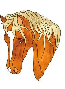 ... horse head arabian arab horse head stained glass pattern price $ 3 00