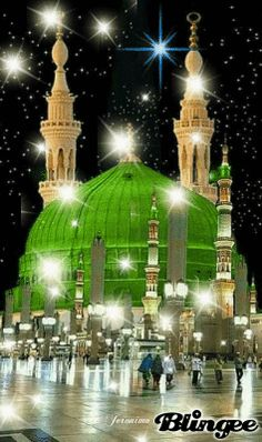 Holy shrine of prophet Muhammad s. Al Masjid An Nabawi, Mecca Masjid, Masjid Al Haram, Islamic Images, Islamic Pictures, Islamic Art, Islamic Sites, Islamic Wallpaper Hd, Mecca Wallpaper