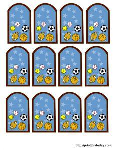 Sports Balls blue
