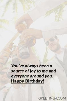 Short Birthday Wishes & Messages For Best Friend - Celebrities Photos, Images, Wallpapers, Wishes & Messages Short Birthday Wishes, Happy Birthday Best Friend Quotes, Birthday Wishes For Boyfriend, Birthday Wishes Messages, Sister Birthday, Birthday Wishes For Friends, Birthday Message For Friend, October Birthday, Birthday Greetings