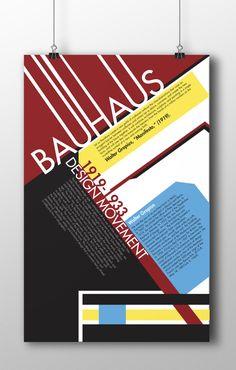#Bauhaus #Poster #Futura #Typo © Cody Reeves
