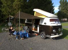 Blackmore Camping England, unser letzter Roadtrip im VW Bus T2a