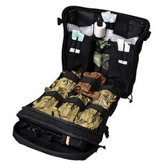 TacMed™ R-AID® Kit is ideally suited to work as an assault aid-bag, vehicle bag, or combat lifesaver bag. Provide life-saving treatment to multiple casualties. Survival Supplies, Survival Prepping, Emergency Preparedness, Survival Gear, Survival Stuff, Survival Videos, Wilderness Survival, Outdoor Survival, Tactical Equipment