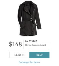 my current black (over my bum) coat is wearing out - like this style and length Fashion Group, Fashion 2017, Boho Outfits, Fashion Outfits, Gypsy Style, My Style, Trench Jacket, Kinds Of Clothes, Stitch Fix Stylist