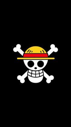 L\'étendard du Chapeau de Paille  ? (One Piece) #smartphone #smartphone #poster