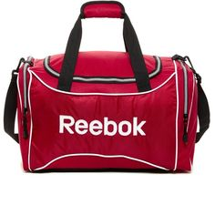 Reebok Small Duffle 2775 Rsd Liked On Polyvore Featuring Bags Handbags