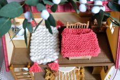 dscf7480 Sylvanian Families, Crochet, Elsa, Diy, Accessories, Making A Bow, Sleeping Bags, Gift Ideas, Winter
