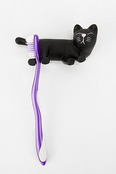 Cat Toothbrush Holder - Urban Outfitters - $6