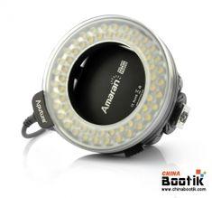 """6W Macro Ring Flash Light """"Aputure Amaran AHL-N60"""" - For Nikon DSLR Cameras, 60 LEDs (White) #camera #flashlight"""