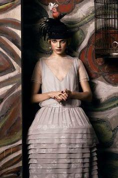 Homenaje a Paul Poiret en Vogue (2007)