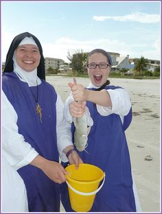 Children of Mary... hope they didn't catch that catfish by hand