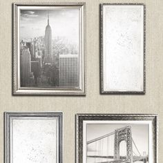 Mural Wallpaper NYC in Frames - http://www.muriva.com/portfolios/mural-wallpaper-nyc-frames/