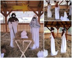 Commercial life size nativity scenes all american christmas co christmas diy idea life size nativity for patio or garden shed from old solutioingenieria Image collections