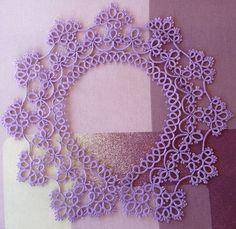 Handmade Collar  lilac collar  lace collar  by FairyLacebyElena
