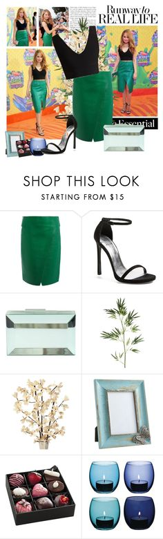 """""""2014 Kids Choice Awards~ Debby Ryan"""" by snugget9530 ❤ liked on Polyvore featuring Sportmax, Stuart Weitzman, Rauwolf, Pier 1 Imports and LSA International"""