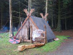 Karmoy - Viking tent by lori flickr, via Flickr