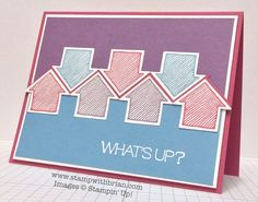 What's Up?, Stampin' Up!, Brian King