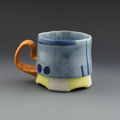 Justin David Crowe - mug with orange handle |Pinned from PinTo for iPad|