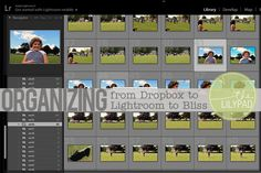 Organizing from Dropbox to Lightroom to Bliss