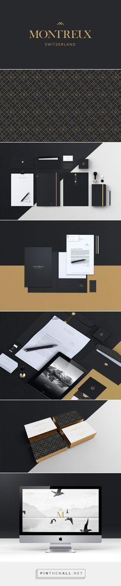 Montreux | Branding on Behance  | Fivestar Branding – Design and Branding Agency & Inspiration Gallery