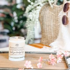 This soy candle smells like: A beach inspired blend of mahogany layered with coconut, sandalwood, vanilla, and oak moss. White Candles, Soy Candles, Candle Jars, Watermelon Lemonade, Watermelon Slices, Best Smelling Candles, Relaxing Bathroom, Fragrance Oil, Berries