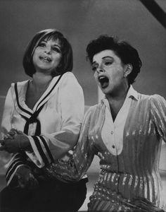 Streisand and Garland