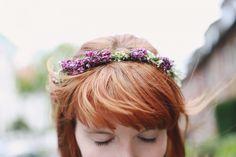 Jessis DIY: Blumenkranz mit echten Blumen