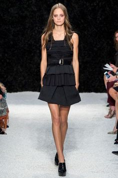 Date-night outfit idea: an LBD, inspired by Vera Wang spring 2015