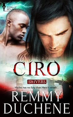 CIRO - book 1 in my SHIVERS series with Totally bound