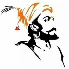 Chhatrapati Shivaji Maharaj a brave King happened in History of India. Such a brave history, you can't forget. Warriors Wallpaper, Shiva Wallpaper, Drawing Wallpaper, Black Wallpaper, History Instagram, Shivaji Maharaj Painting, Mahadev Hd Wallpaper, Shivaji Maharaj Hd Wallpaper, Face Sketch