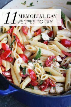11 Memorial Day recipes to try | theglitterguide.com