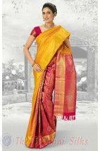 Bocade Wedding Silk Saree PMD6 http://www.shopcost.in/bridal+silk+saree