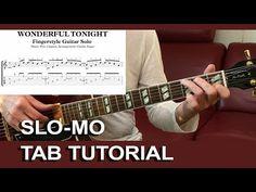 Wonderful Tonight (Eric Clapton) Tab Score Sheet Music Acoustic Fingerstyle Guitar