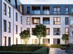 Commercial Architecture, Residential Architecture, Architecture Design, Arch Hotel, Home Design Plans, Condominium, Apartment Design, Urban Design, House Design