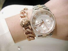 marc jacobs watch & bracelet